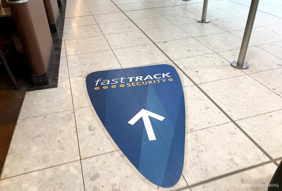 SAS Plus Edinburgh Oslo fast track