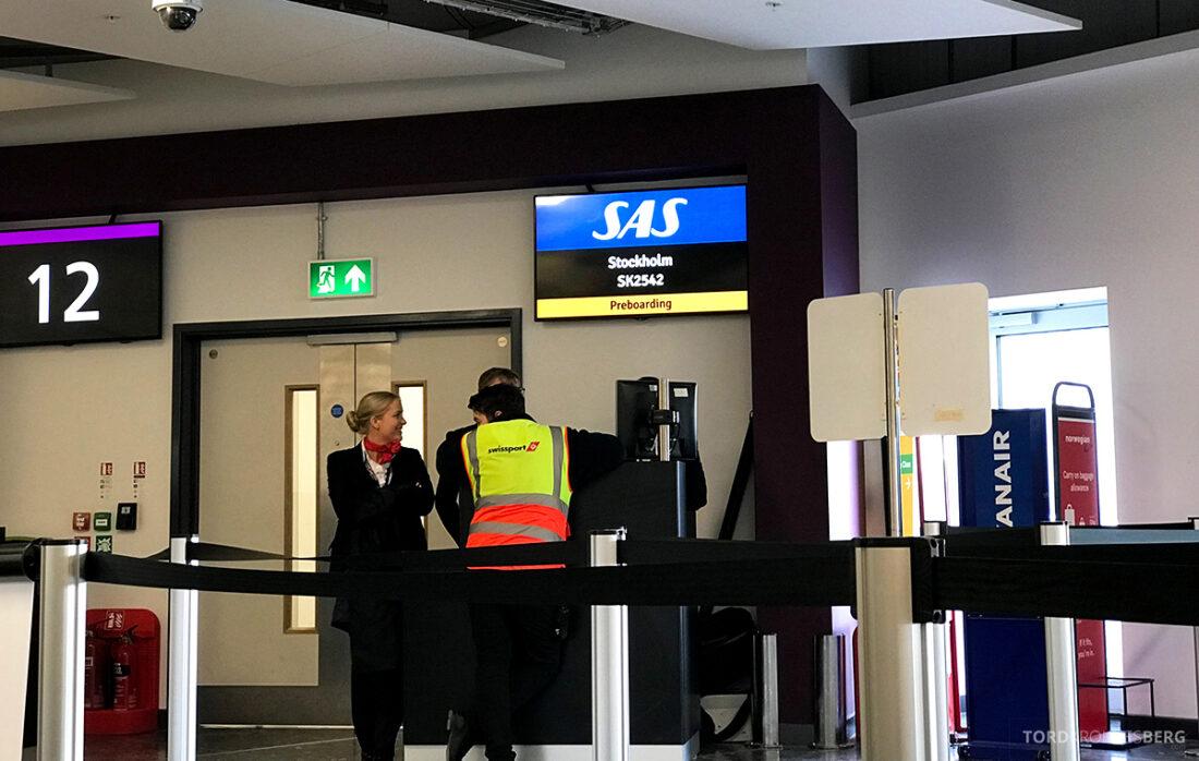 SAS Plus Edinburgh Oslo gate