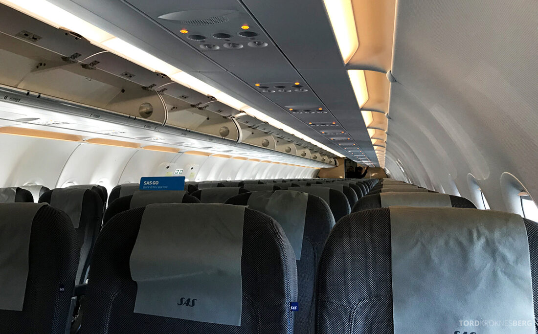 SAS Plus Edinburgh Oslo kabin