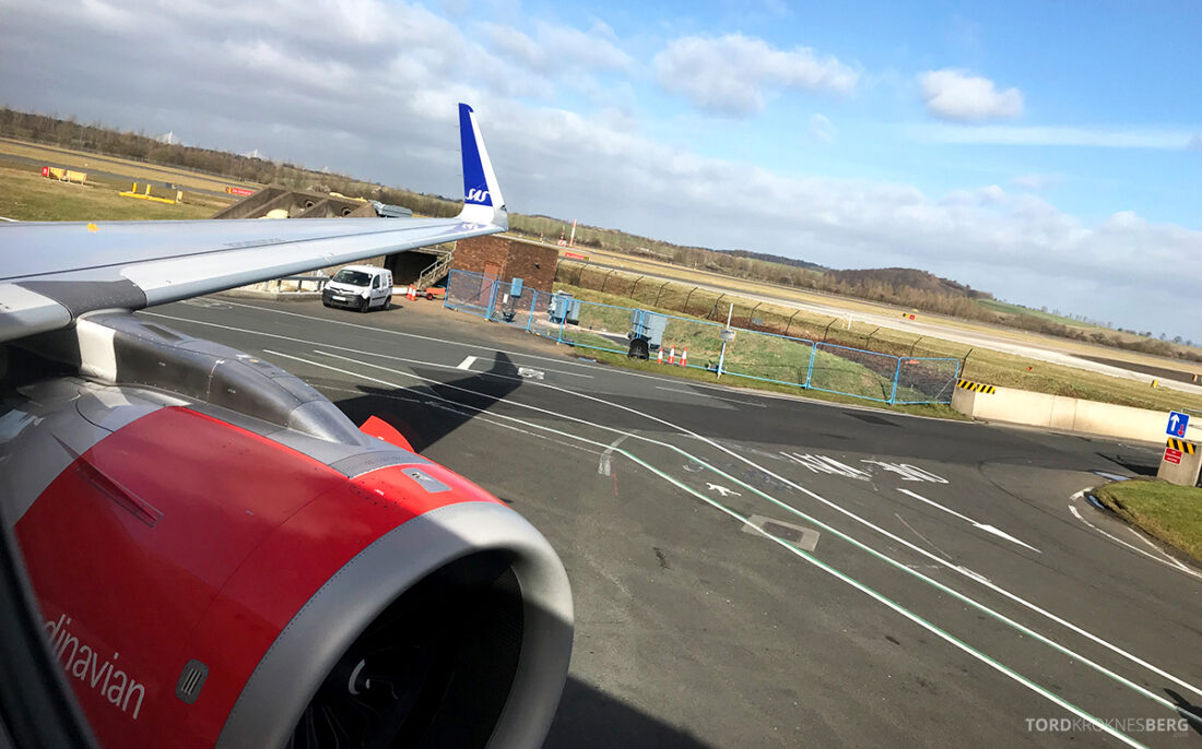 SAS Plus Edinburgh Oslo klar for takeoff