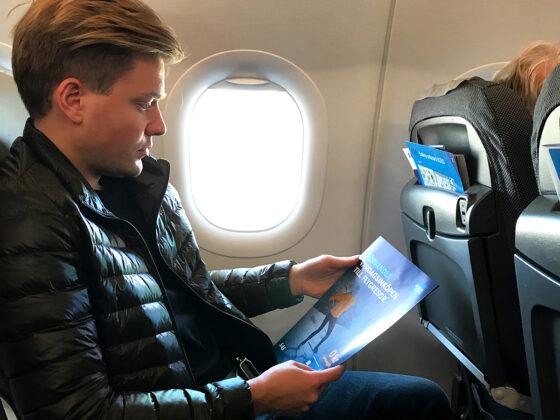 SAS Plus Edinburgh Oslo Tord Kroknes Berg ombord