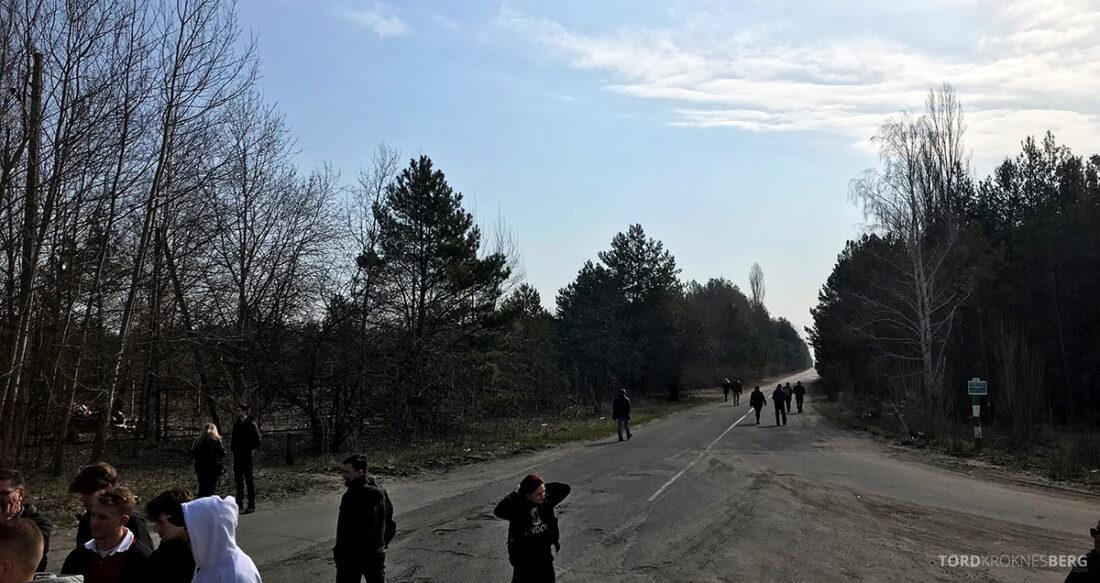 Chernobyl Pripyat Tour kø inngang