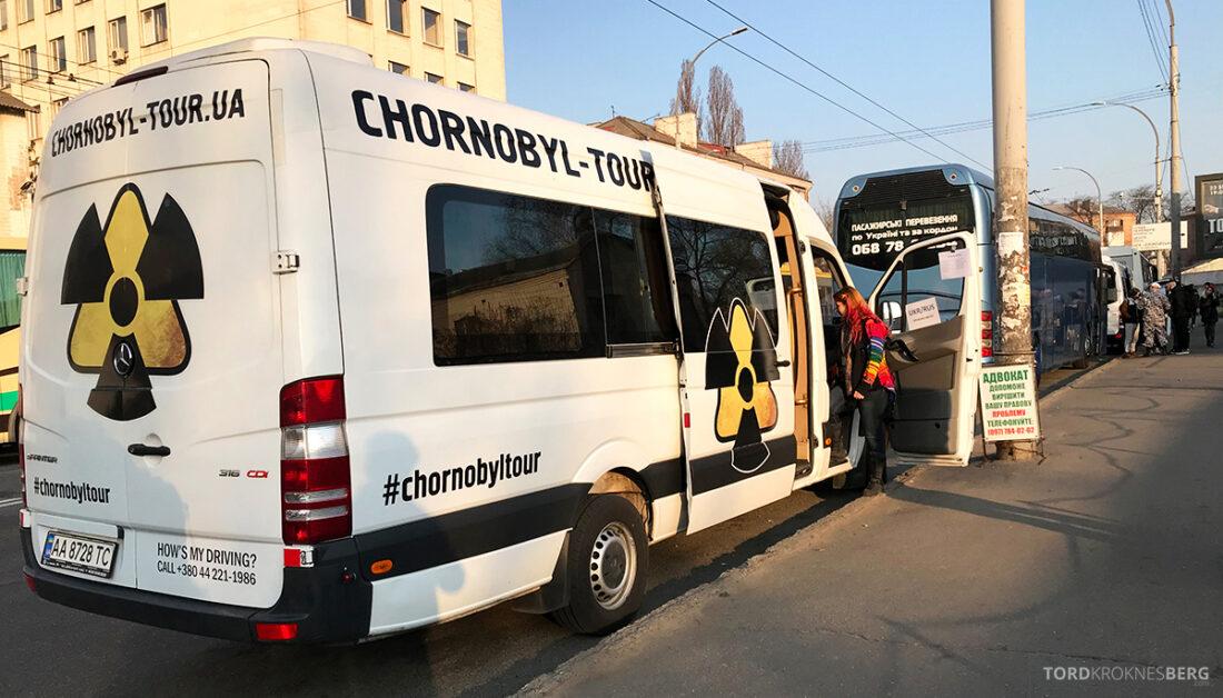 Chernobyl Pripyat Tour minibuss