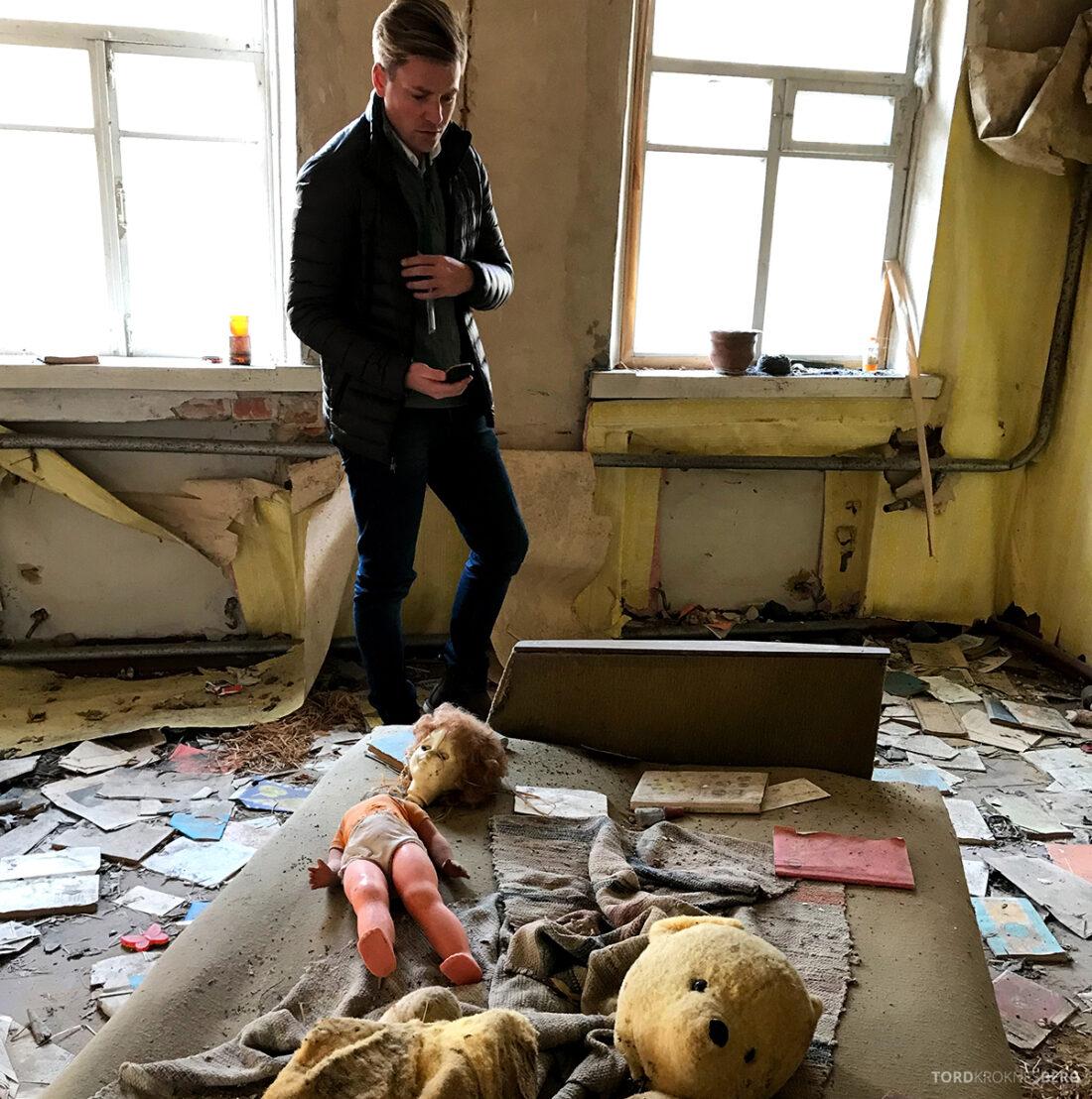 Chernobyl Pripyat Tour Tord Kroknes Berg dukke
