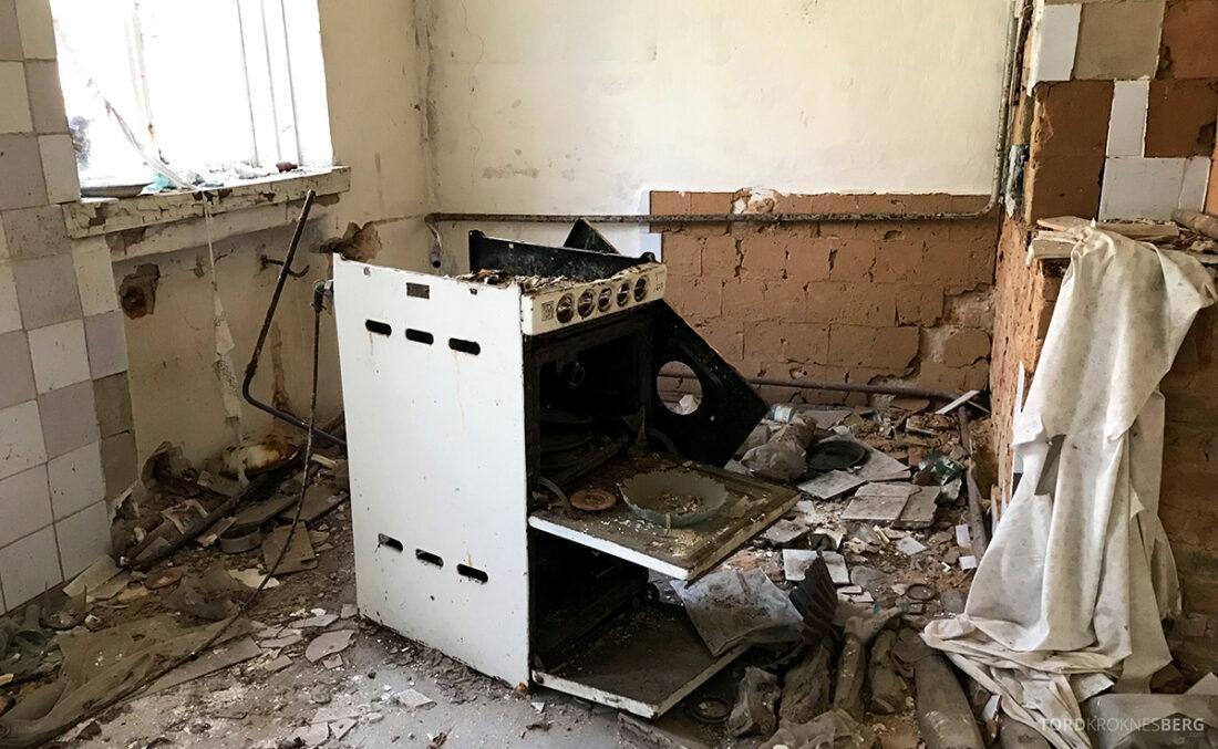 Chernobyl Pripyat Tour komfyr hus