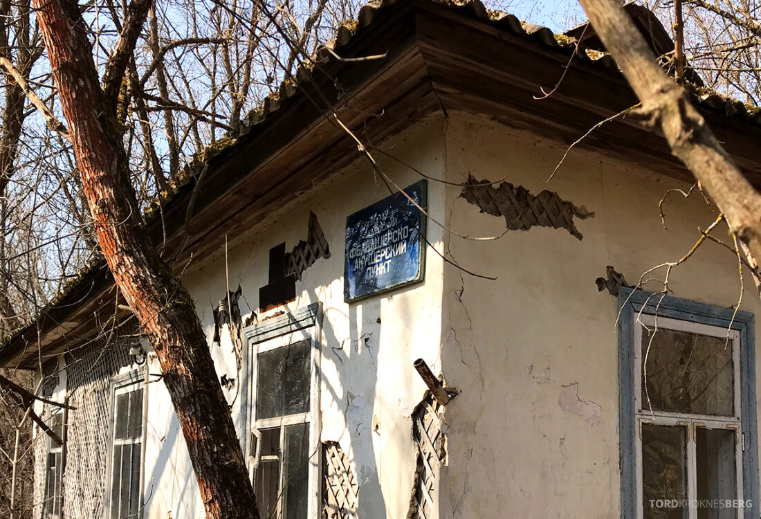 Chernobyl Pripyat Tour hus intakt