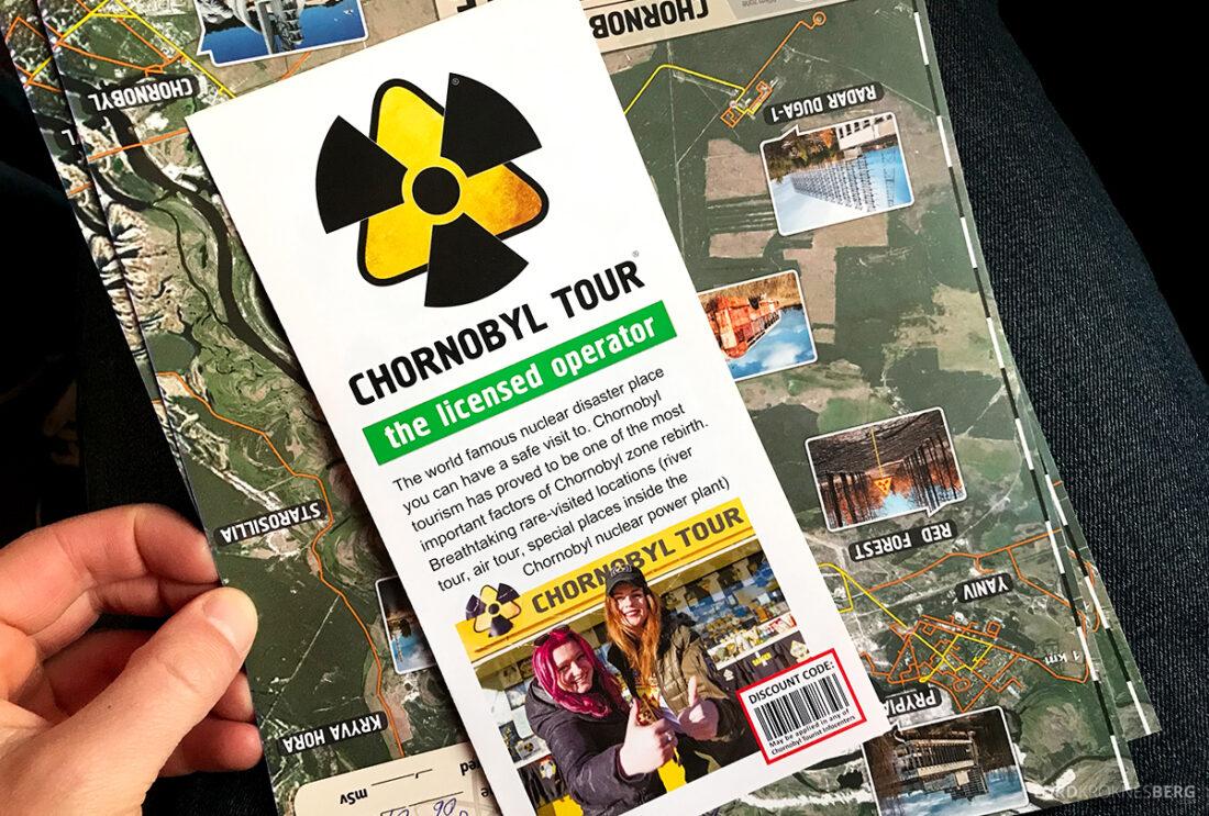 Chernobyl Pripyat Tour informasjon