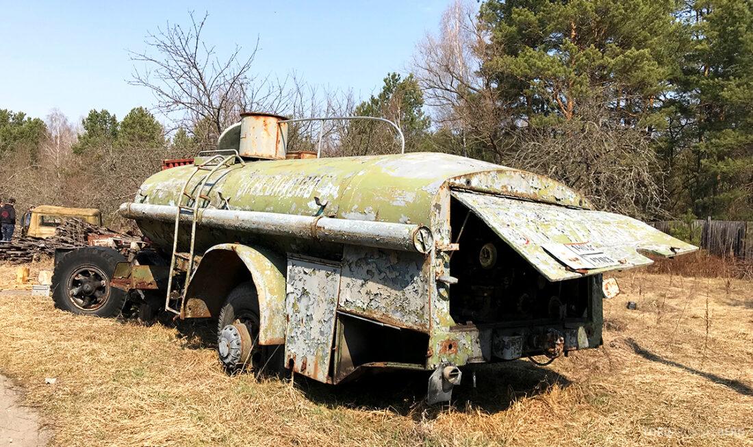 Chernobyl Pripyat Tour bil