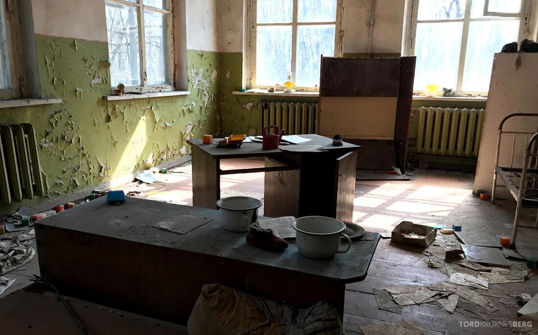 Chernobyl Pripyat Tour barnehave inne