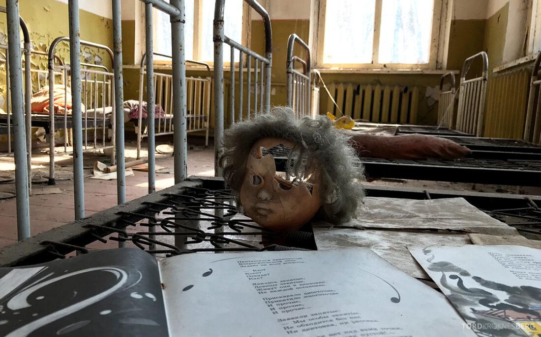 Chernobyl Pripyat Tour knust dukke