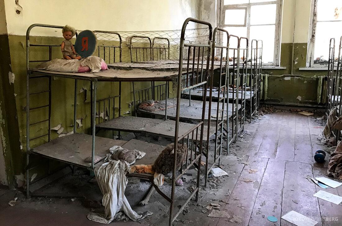 Chernobyl Pripyat Tour senger barnehave