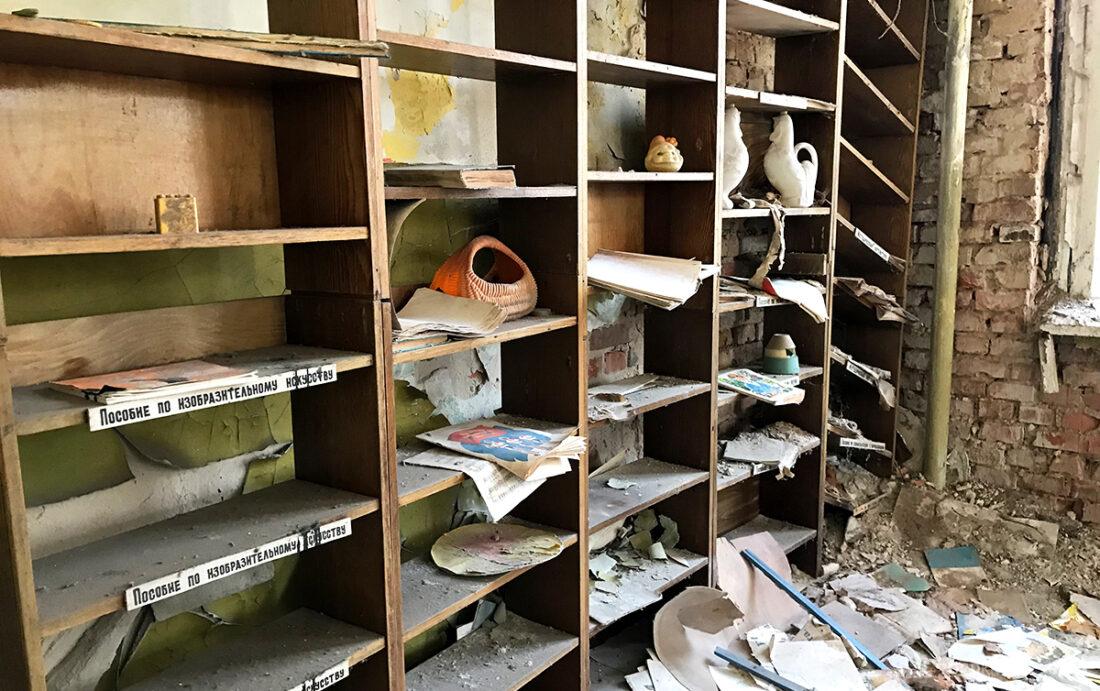 Chernobyl Pripyat Tour barnehave hyller