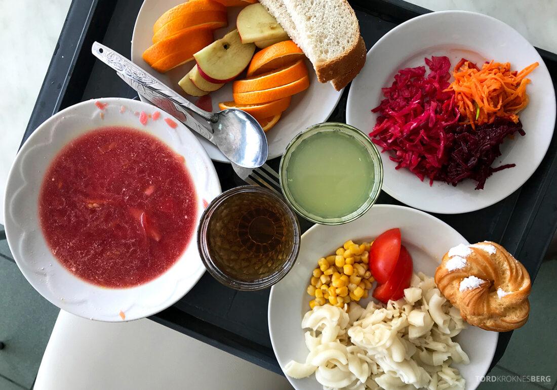 Chernobyl Pripyat Tour kantine vegetar