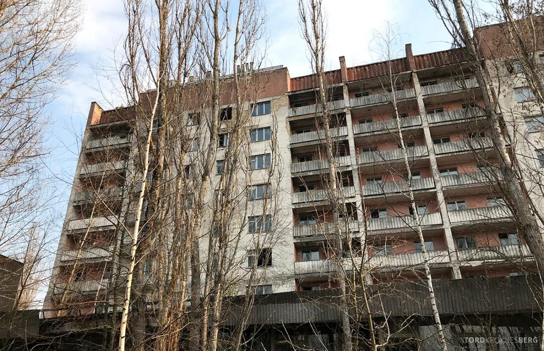 Chernobyl Pripyat Tour boligblokk
