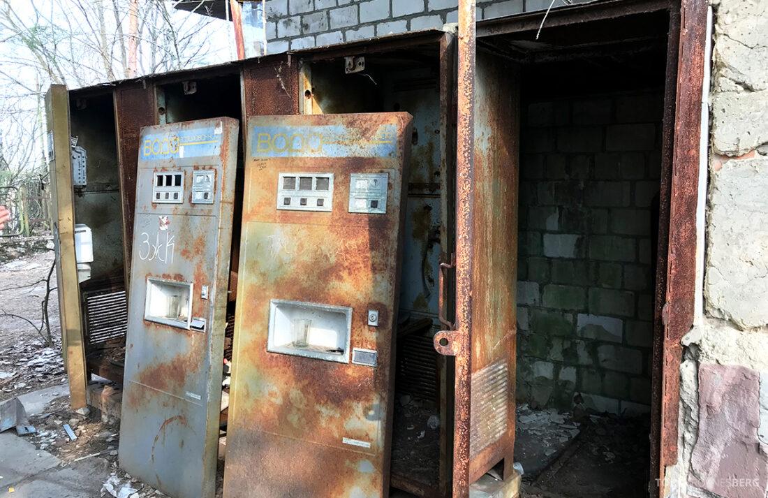 Chernobyl Pripyat Tour automater