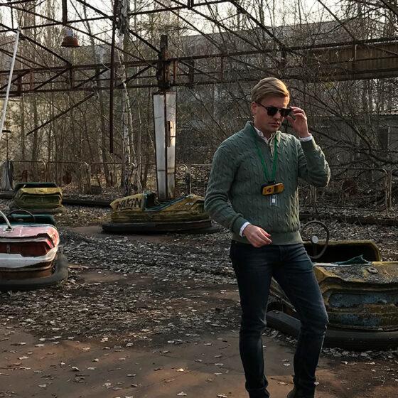 Chernobyl Pripyat Tour Tord Kroknes Berg radiobiler