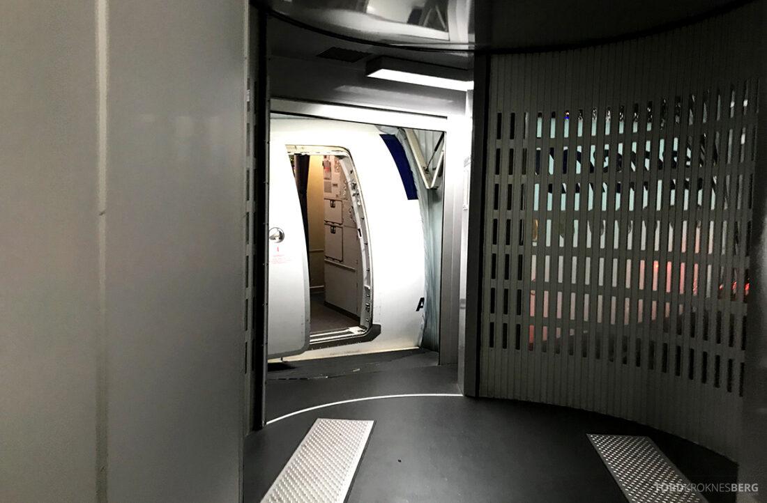 Lufthansa Economy Business Class Oslo Kiev på vei ombord