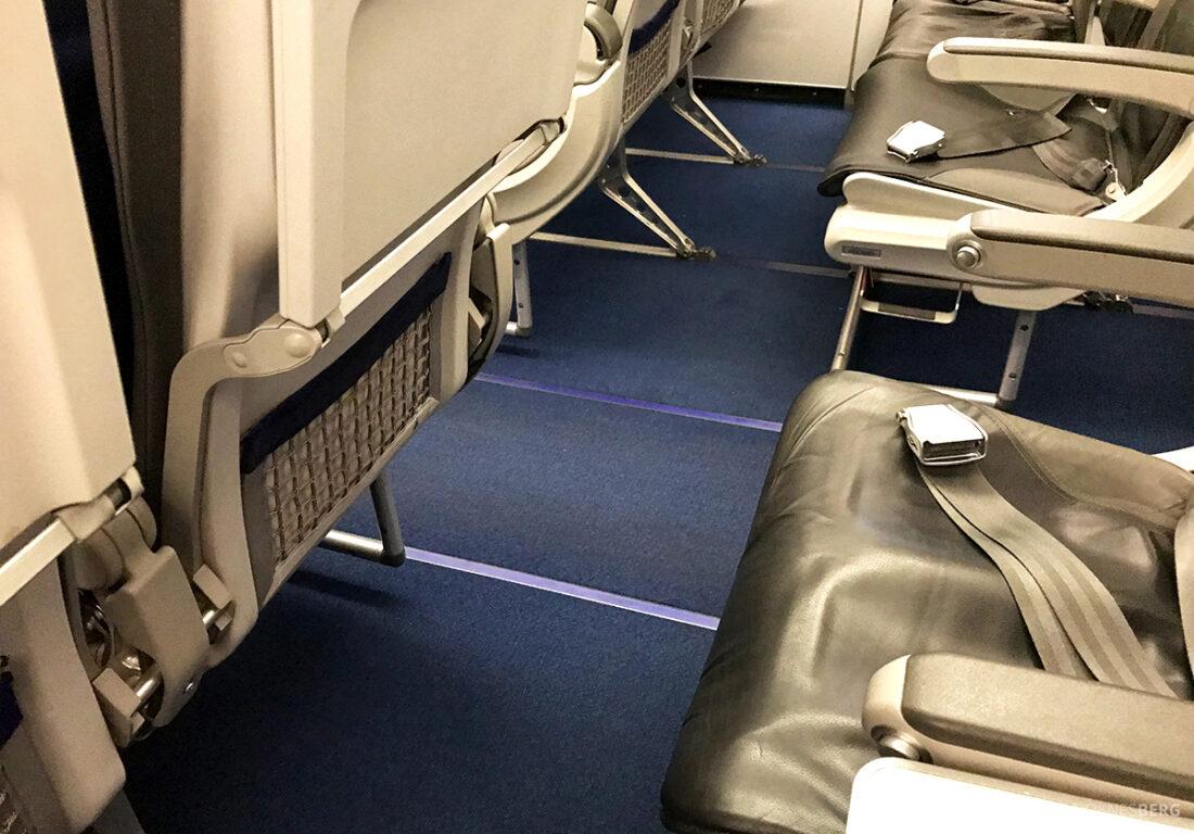 Lufthansa Economy Business Class Oslo Kiev seterad