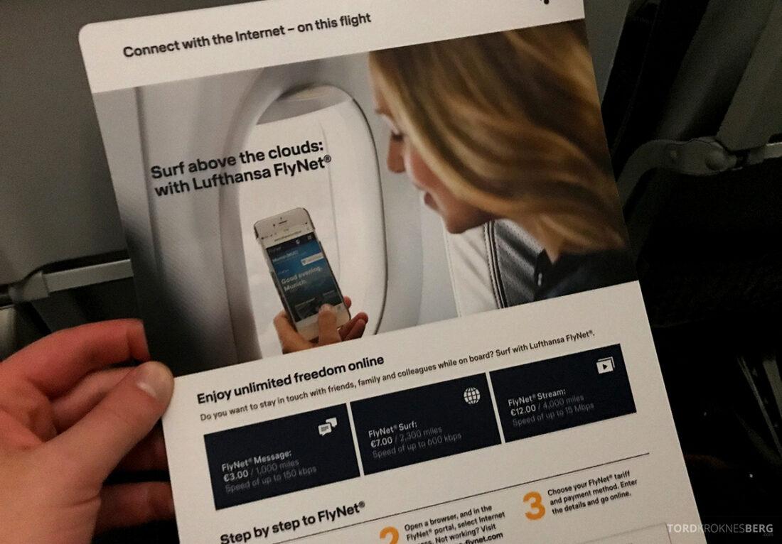 Lufthansa Economy Business Class Oslo Kiev Wi-Fi