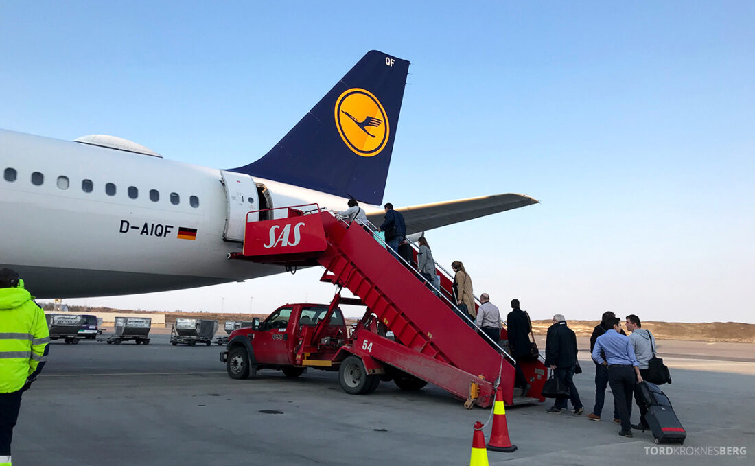 Lufthansa Economy Business Class Oslo Kiev fly