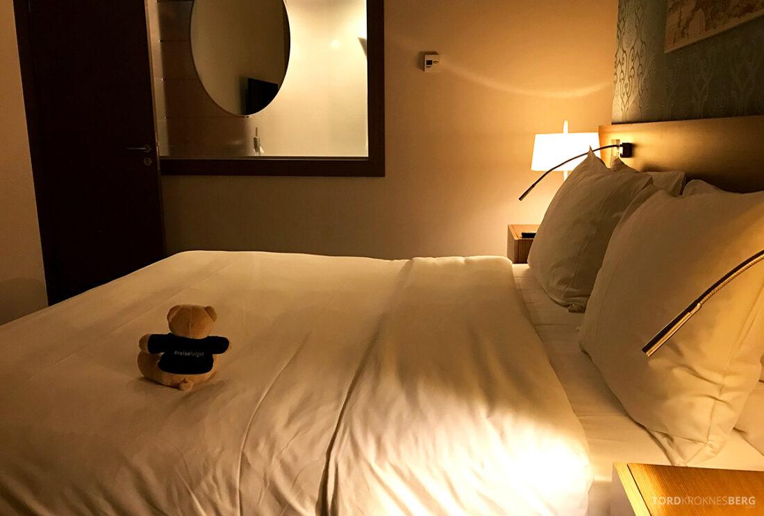 Radisson Blu Hotel Kyiv Podil seng mot bad