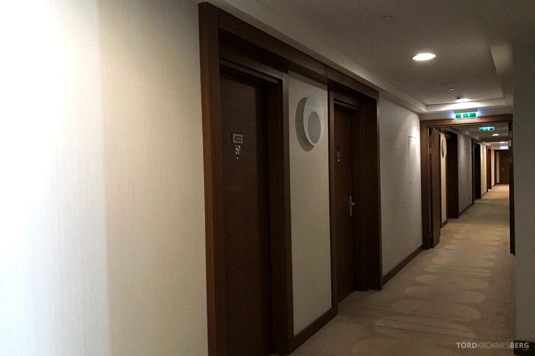 Radisson Blu Hotel Kyiv Podil korridor
