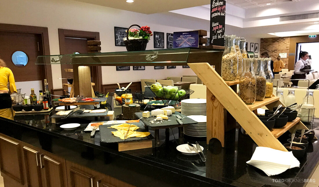 Radisson Blu Hotel Kyiv Podil frokostbuffet