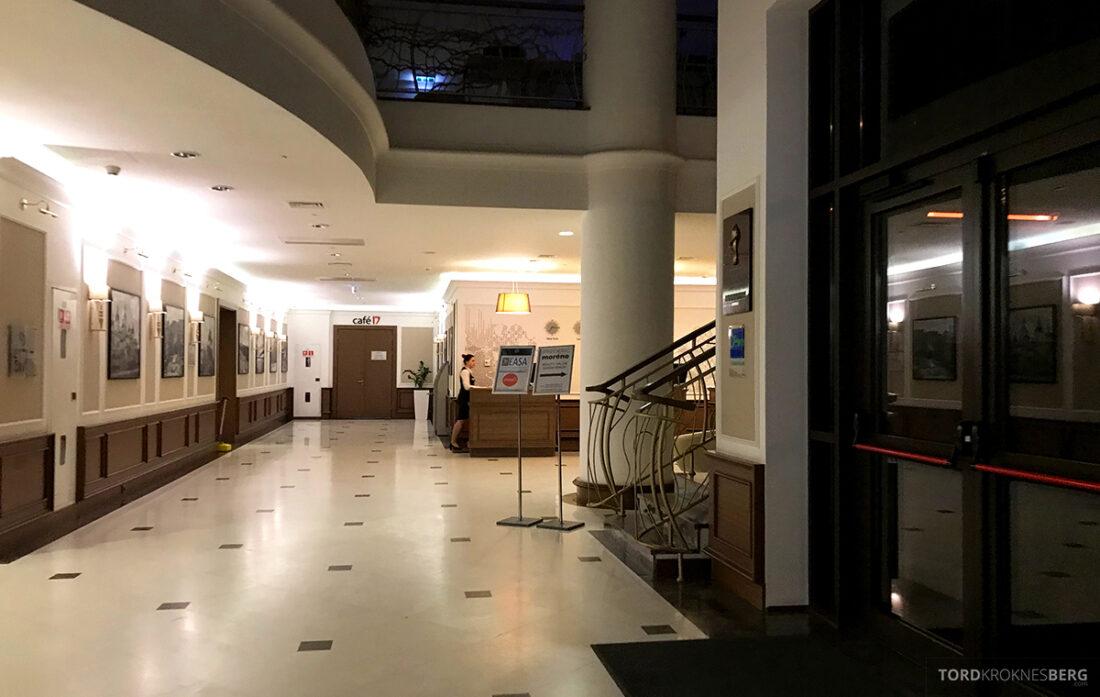 Radisson Blu Hotel Kyiv Podil mørk lobby