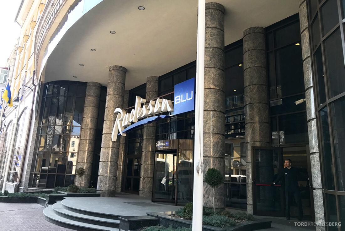 Radisson Blu Hotel Kyiv Podil hovedinngang