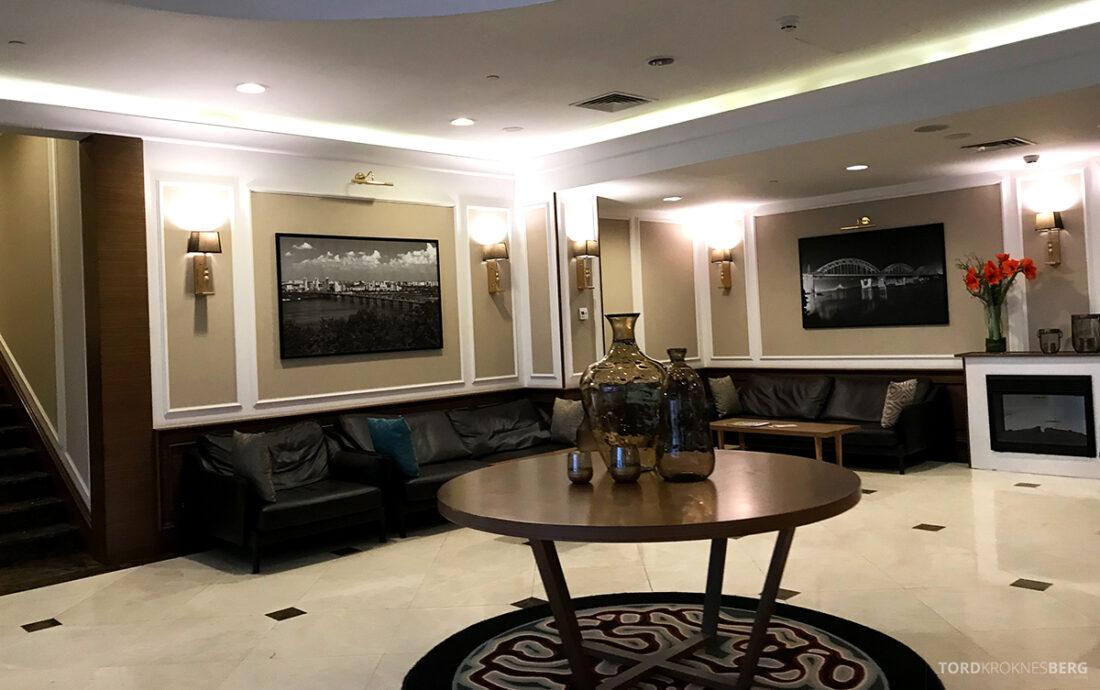 Radisson Blu Hotel Kyiv Podil lobby