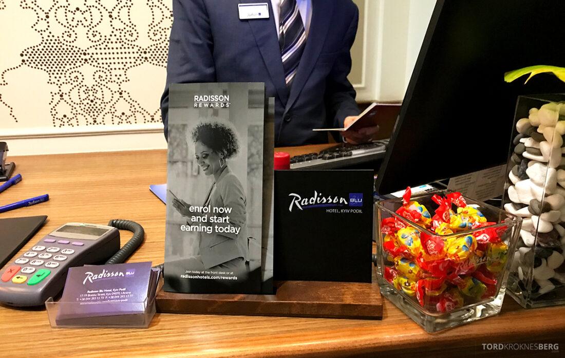 Radisson Blu Hotel Kyiv Podil innsjekk
