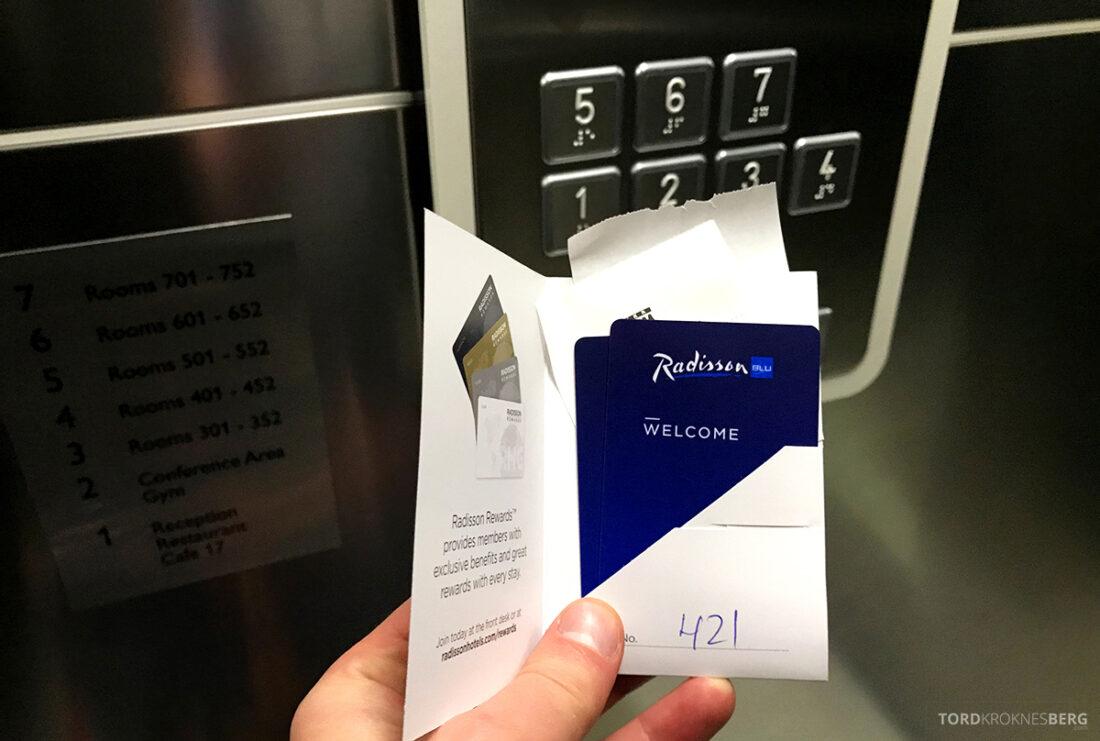 Radisson Blu Hotel Kyiv Podil nøkkelkort