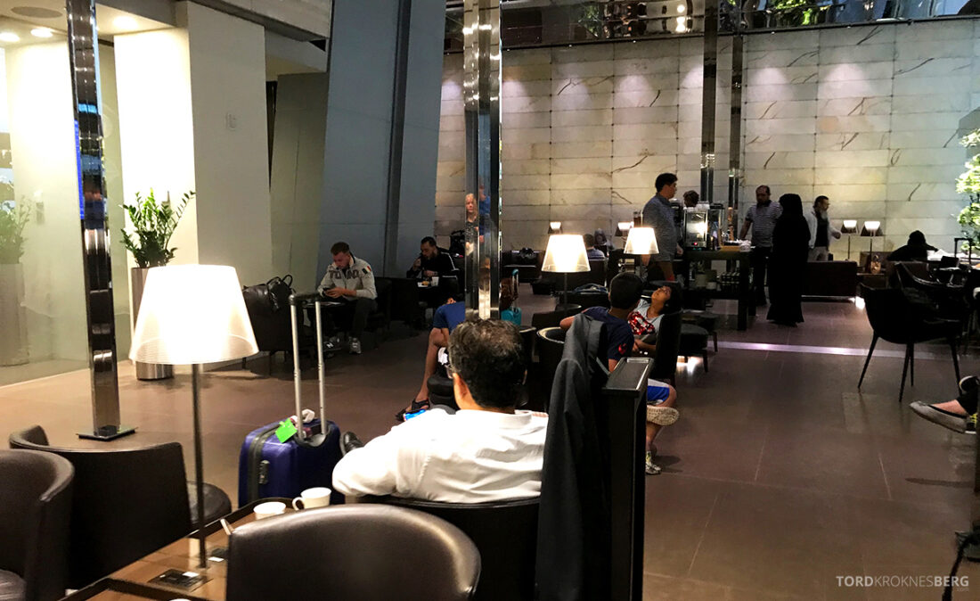 One World First Class Lounge Doha Qatar oversikt