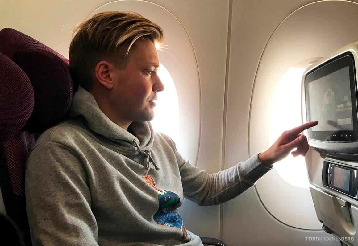 Qatar Airways Economy Class Oslo Doha Tord Kroknes Berg