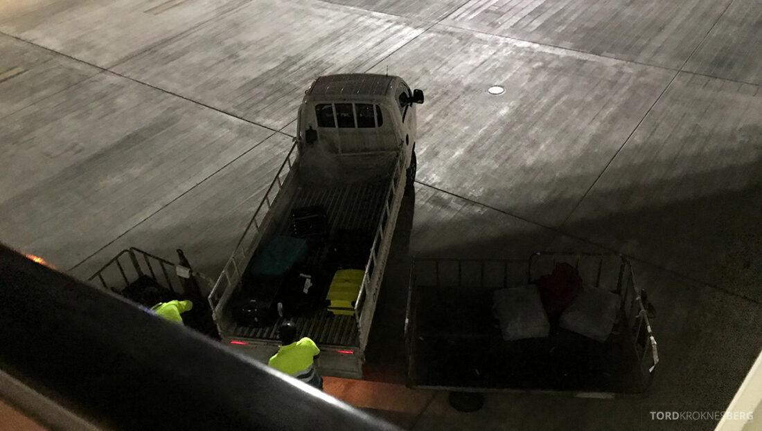Qatar Airways Economy Class Oslo Doha bagasje