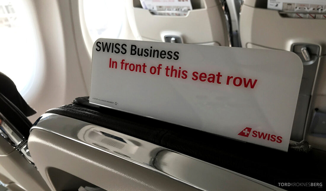 SWISS Economy Class Kiev Zürich Oslo business foran
