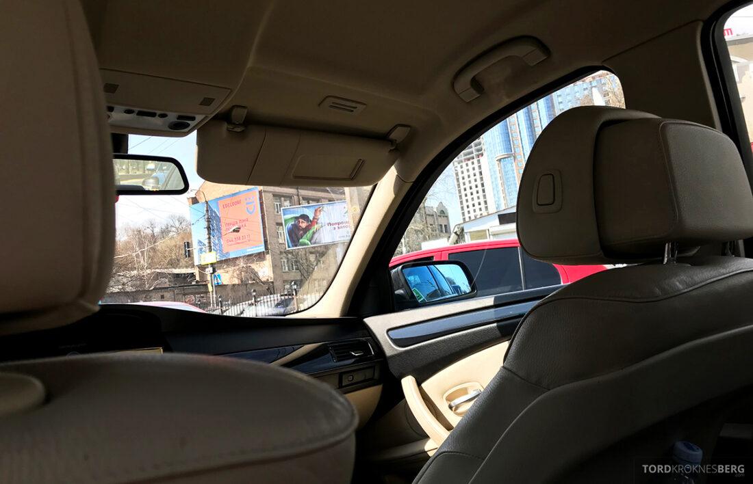 SWISS Economy Class Kiev Zürich Oslo taxi
