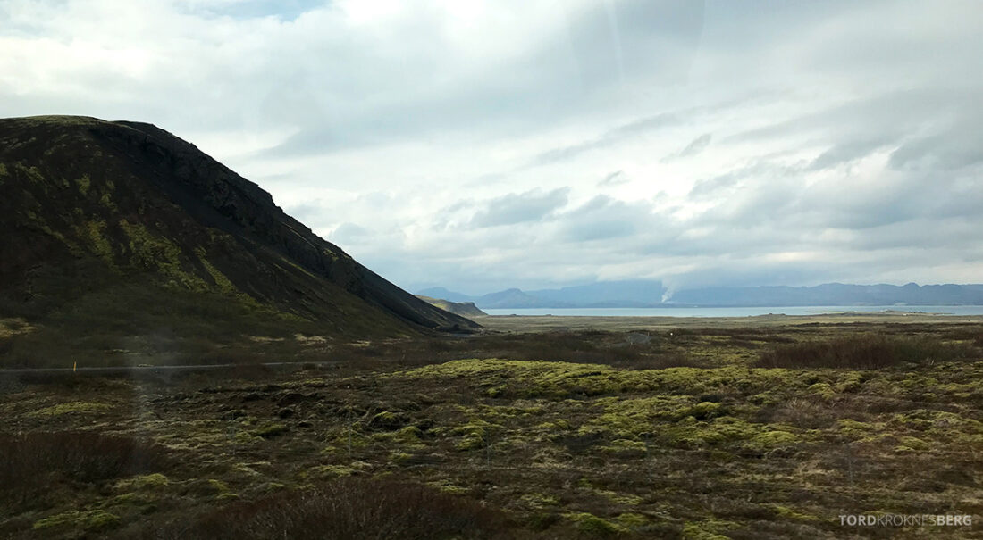 Golden Circle Tour Island landskap