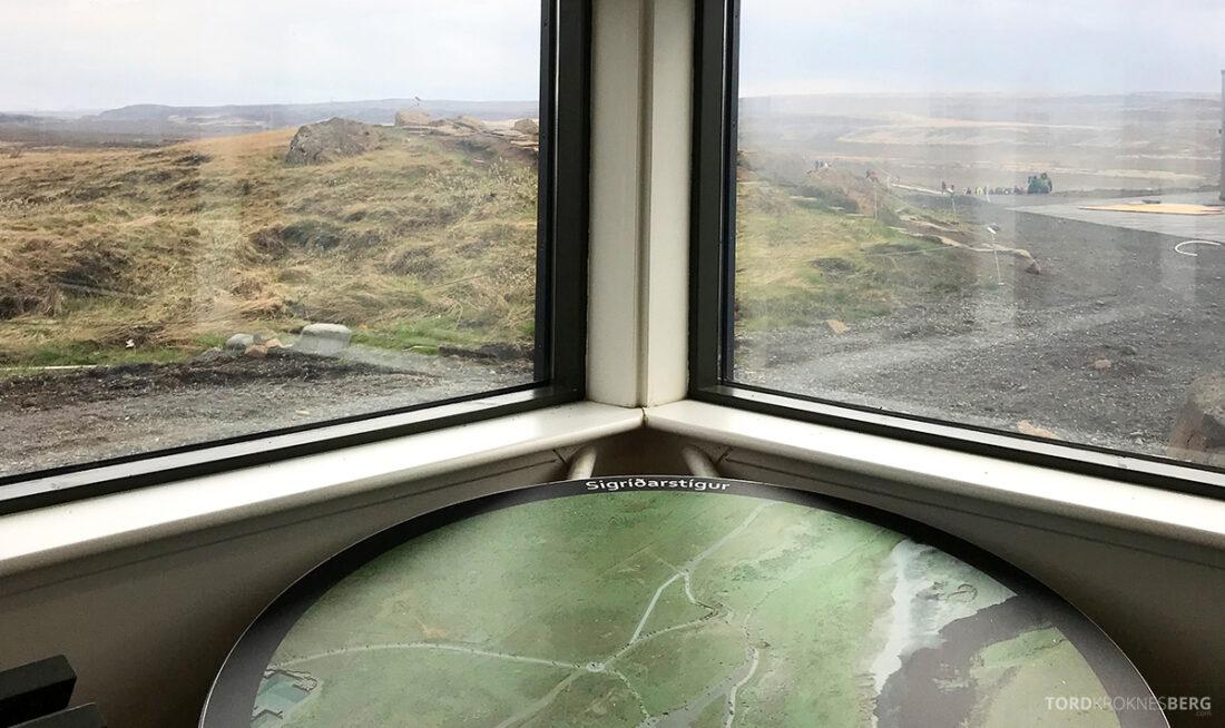 Golden Circle Tour Island kart Gullfoss
