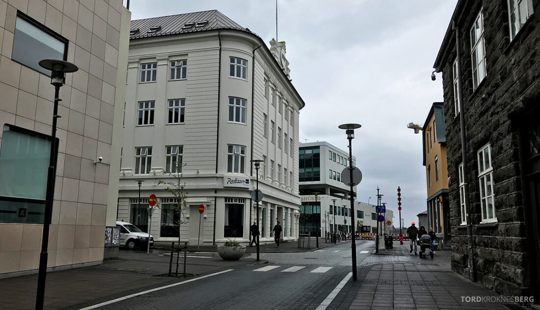 Radisson Blu 1919 Hotel Reykjavik fasade