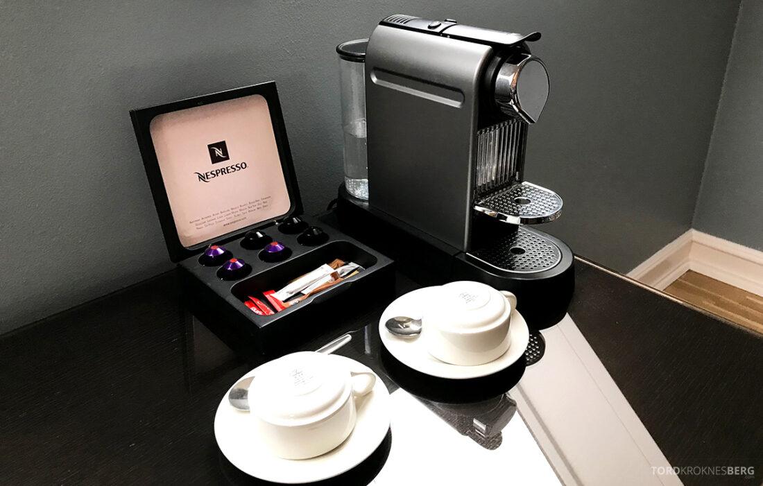 Radisson Blu 1919 Hotel Reykjavik kaffemaskin