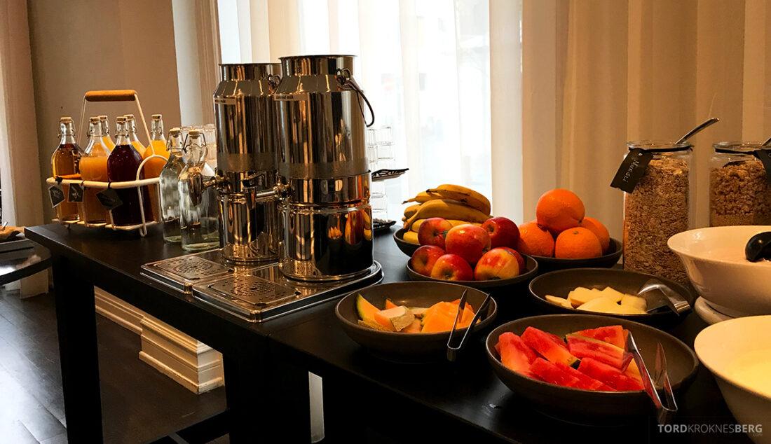 Radisson Blu 1919 Hotel Reykjavik frukt frokost
