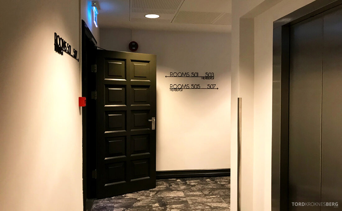 Radisson Blu 1919 Hotel Reykjavik korridor