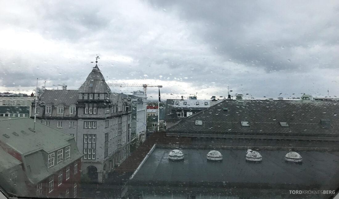 Radisson Blu 1919 Hotel Reykjavik utsikt