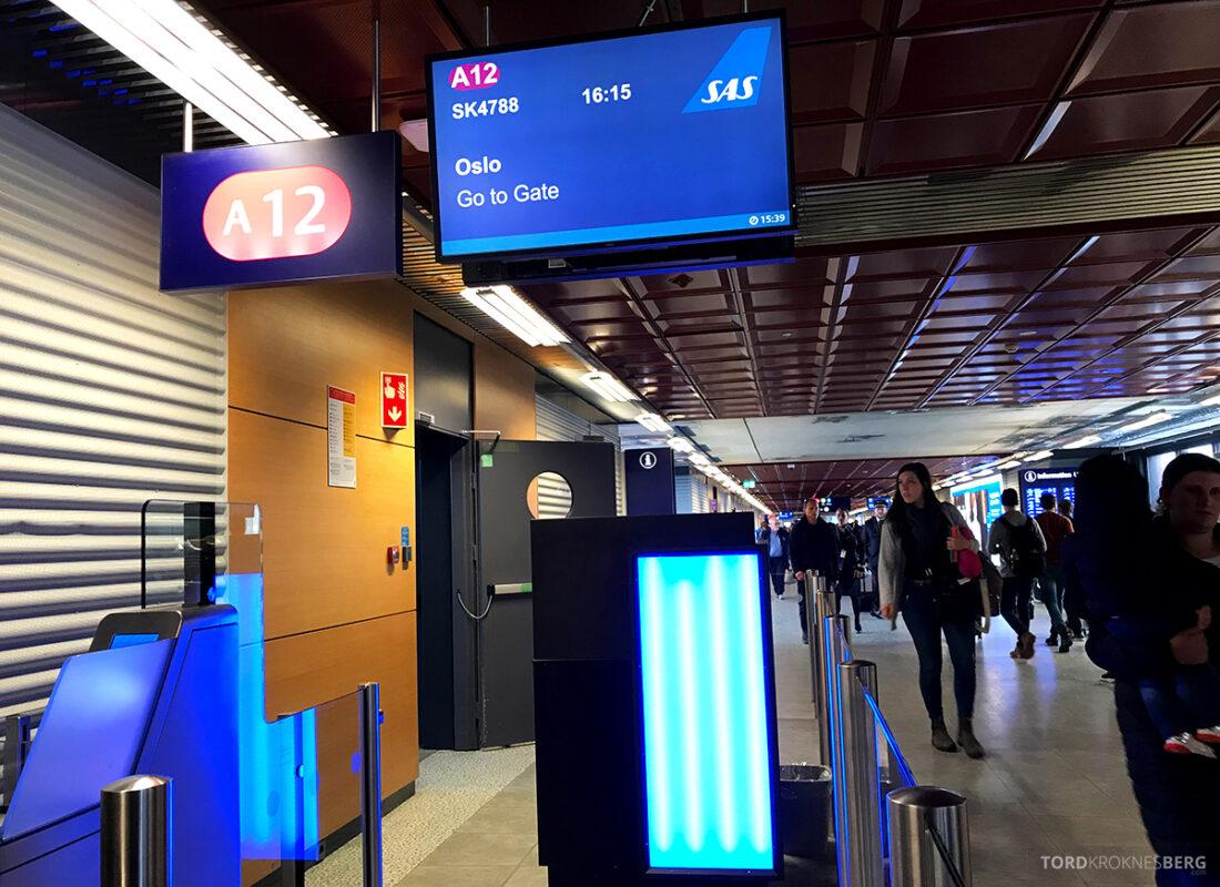SAS Plus Reykjavik Oslo gate