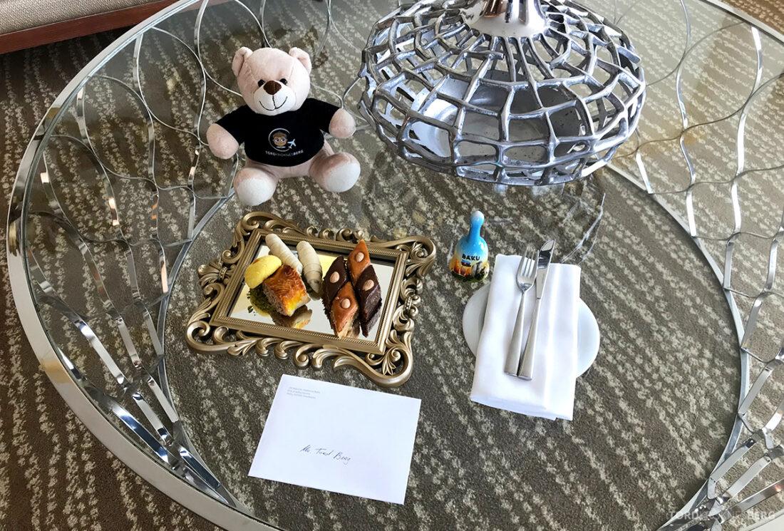 JW Marriott Absheron Hotel Baku velkomstgave