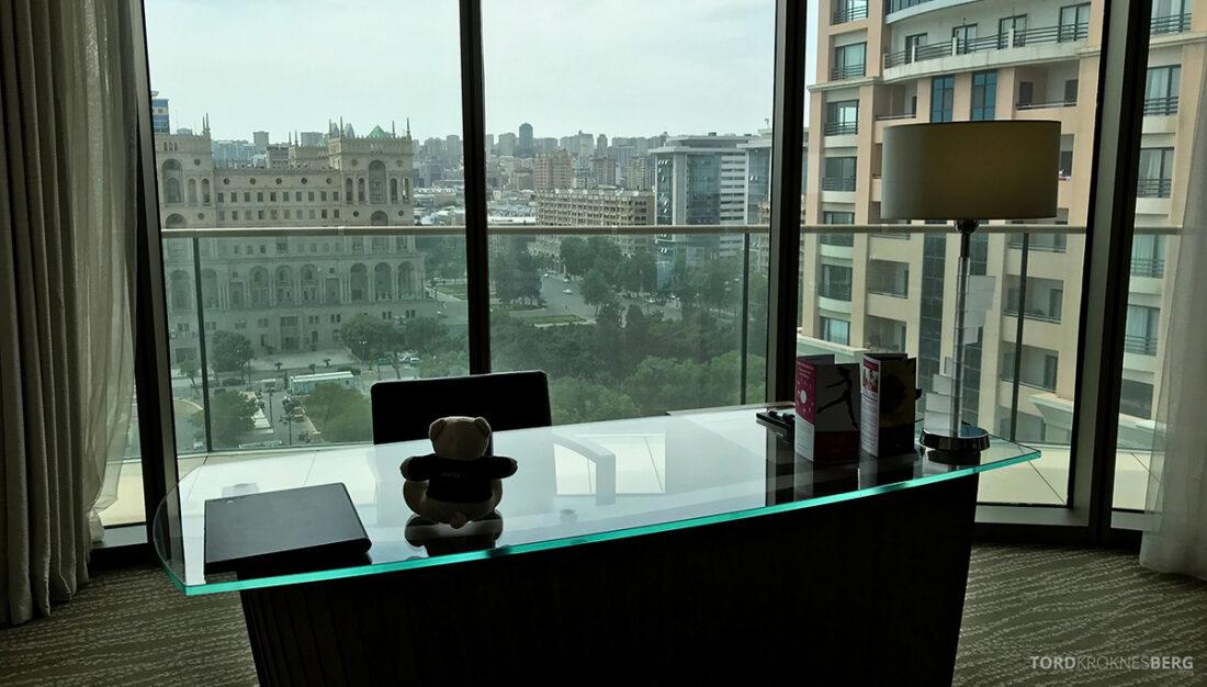 JW Marriott Absheron Hotel Baku reisefølget utsikt