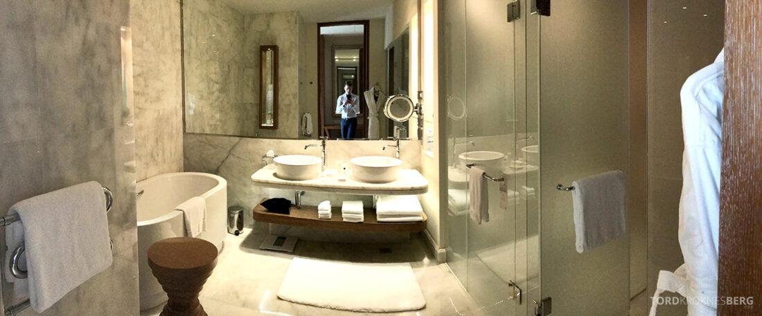 JW Marriott Absheron Hotel Baku panorama bad