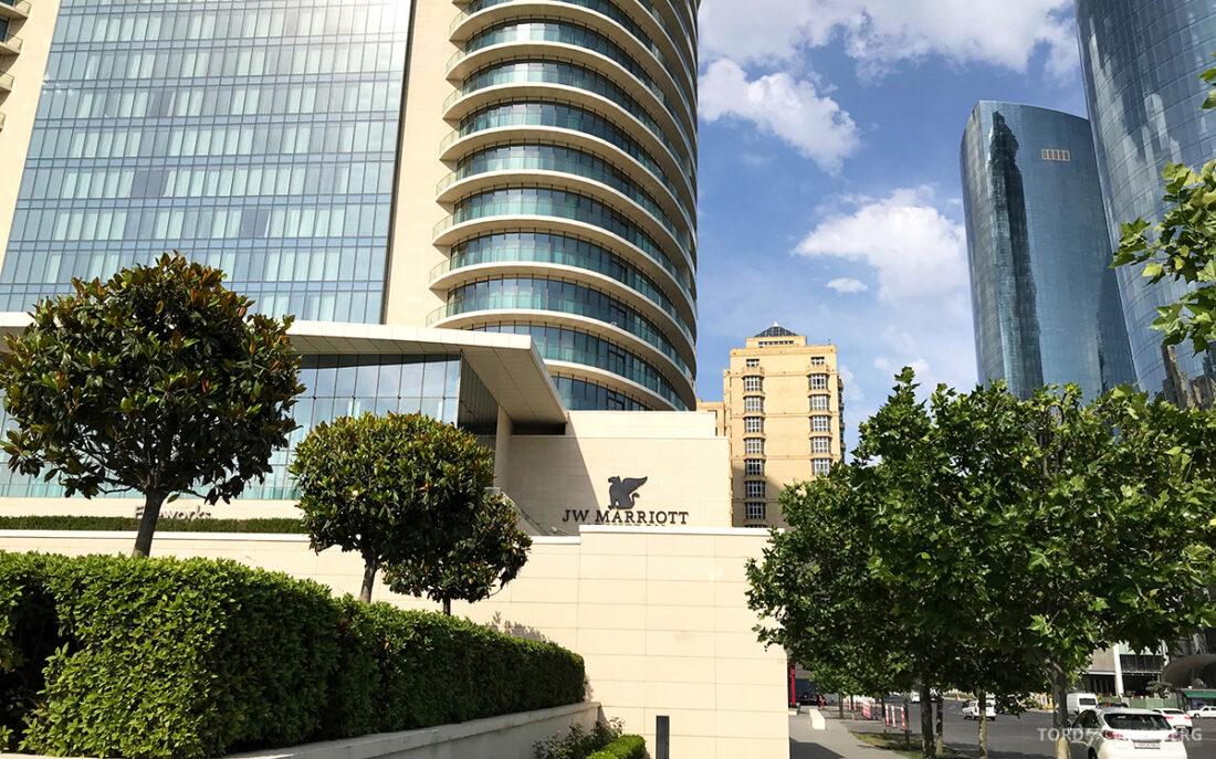JW Marriott Absheron Hotel Baku fasade