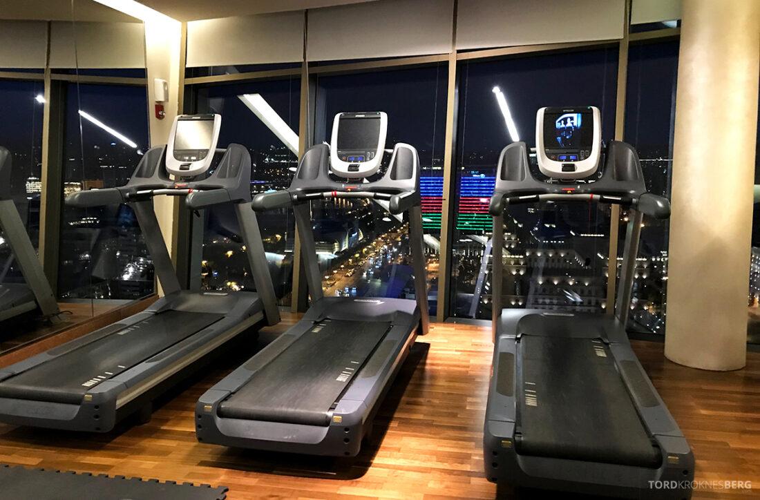 JW Marriott Absheron Hotel Baku gym utsikt